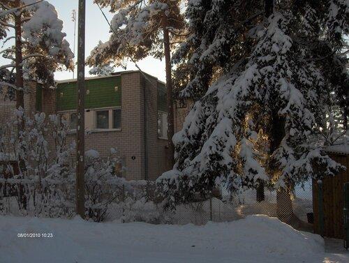 зима в деревне фото