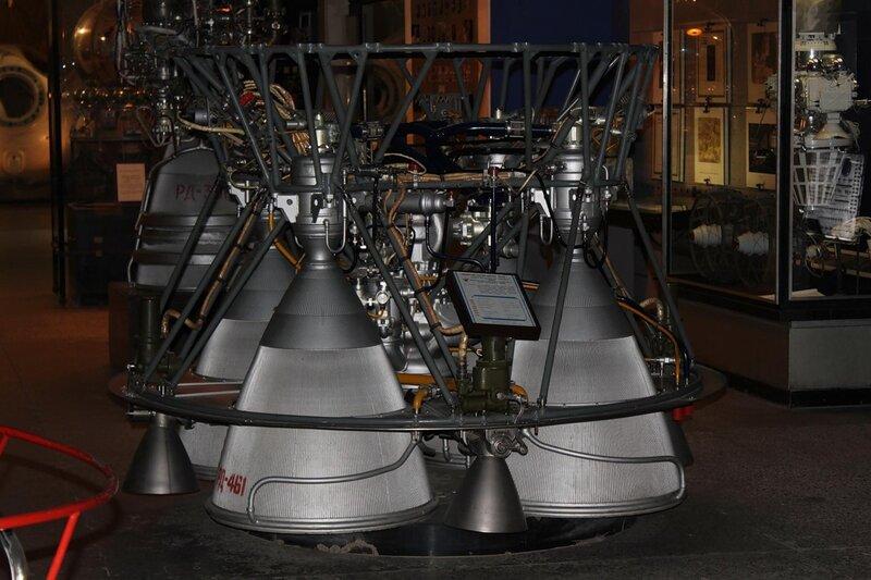 Жидкостный ракетный двигатель РД-0110