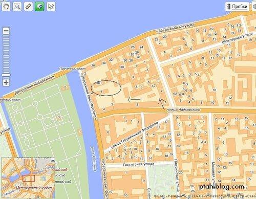карта, петербург, мозаичный двор