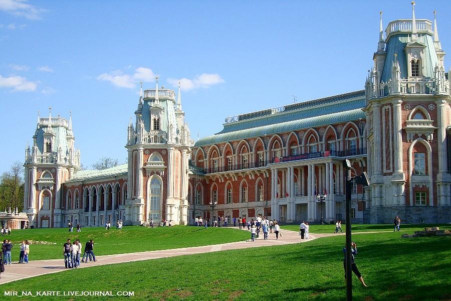 Замок в царицыно москва фото фотоконкурса