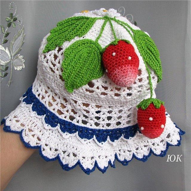 Предствленные шляпки-панамки