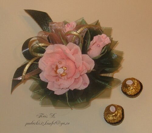 "миниатюра ""роза коралл"""