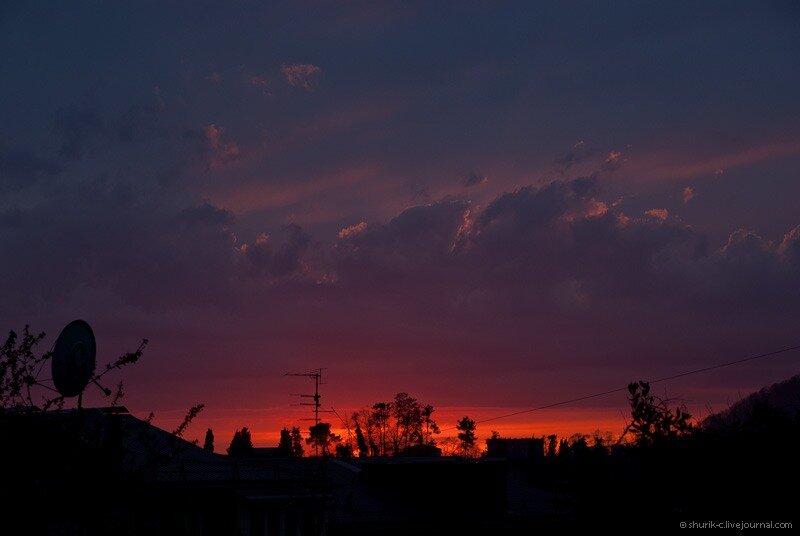 пятничный закат