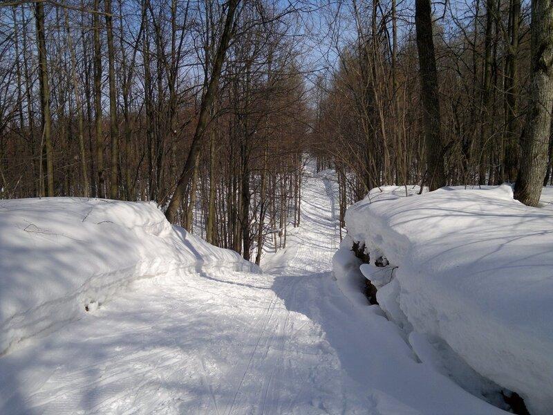 10. Лыжня - детские горки