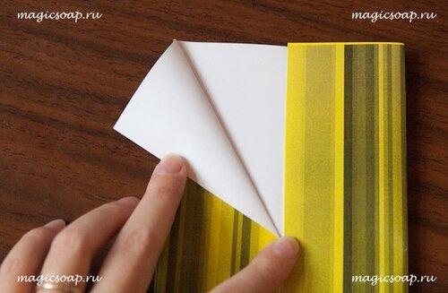 как сделать конверт для письма оригами. лебеди оригами фото.