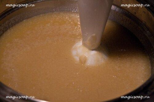 жидкое мыло на KOH, жидкое кастильское мыло, жидкое калийное мыло мастер-класс