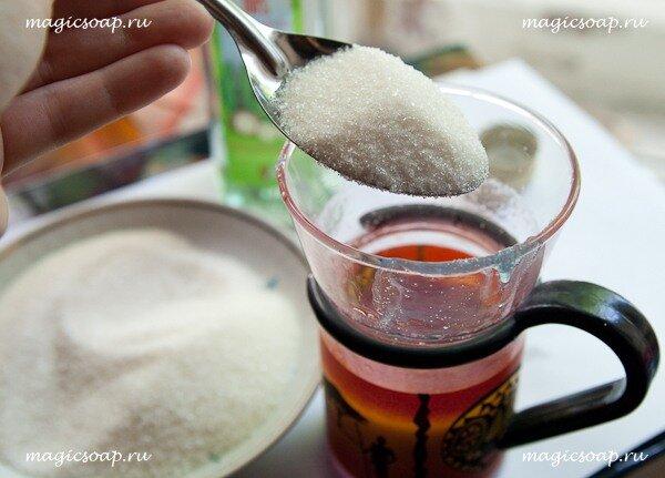 сахарный скраб, сахарный скраб своими руками, сахарный скраб рецепт, подарок быстро