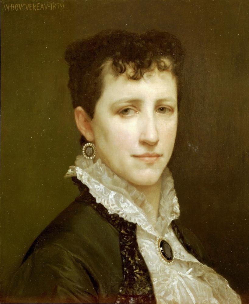Бугеро,Мадемуазель Элизабет Гарднер. 1879 г.