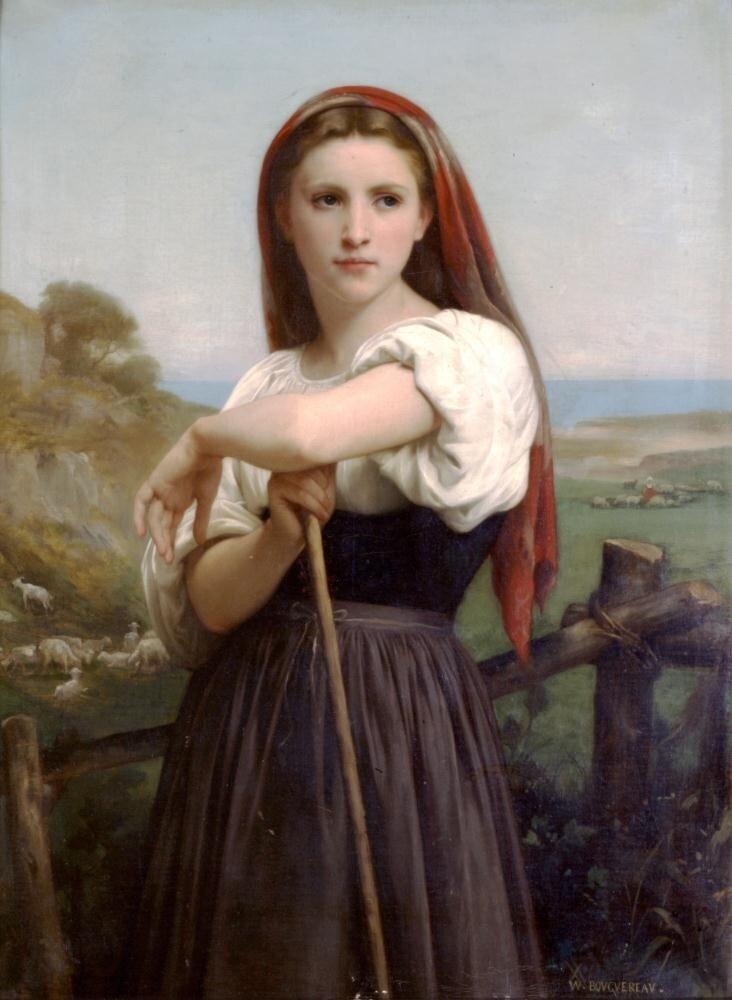 Бугеро, Юная пастушка. 1868 г.