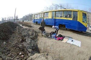 Трамвай во Владивостоке