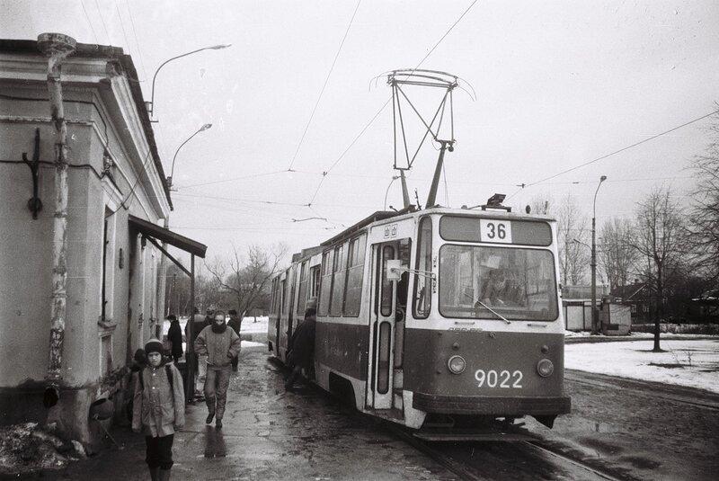 Подвижной состав.  ЛВС-86К 9022.  Схемы.  Маршруты.  Поиск.  Трамвайные линии.  Главная.