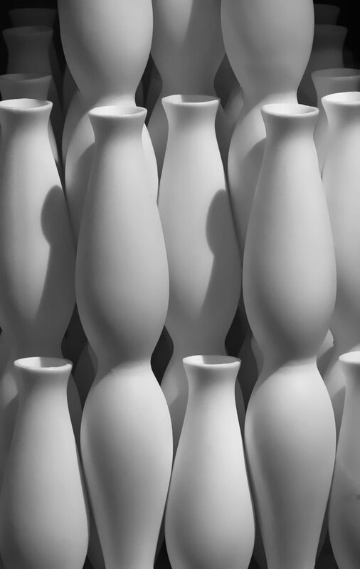 white curves by Patricia Sweeney