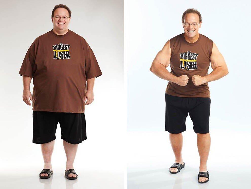 Как похудеть мужчина