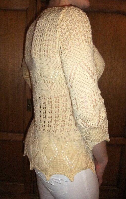 пуловер Panna из Mani di Fata 4 2011
