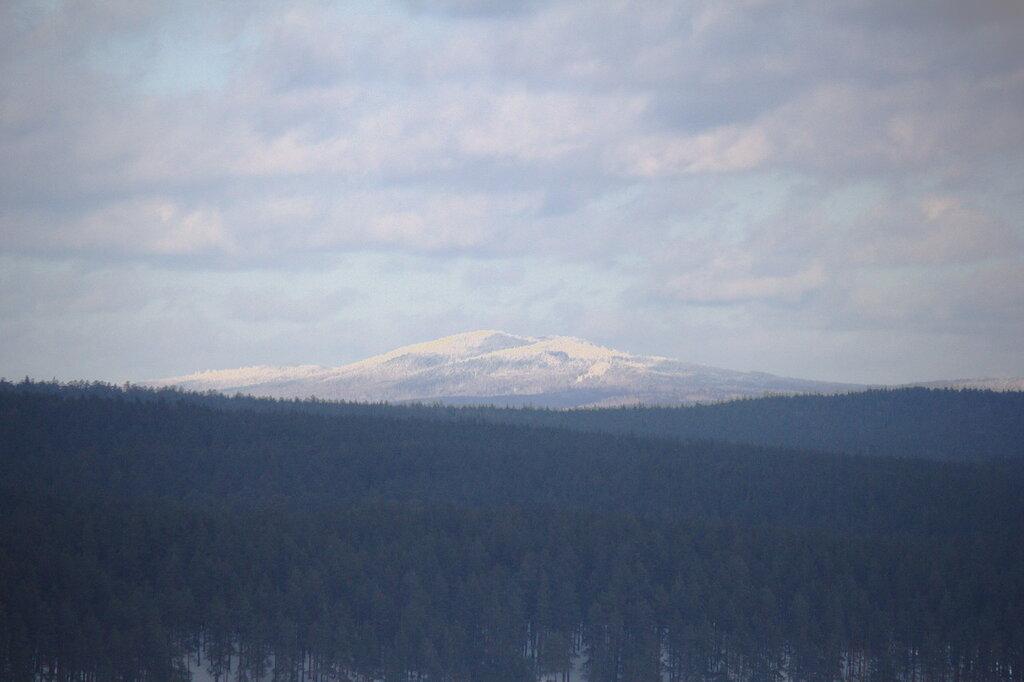гора Большой Миасс