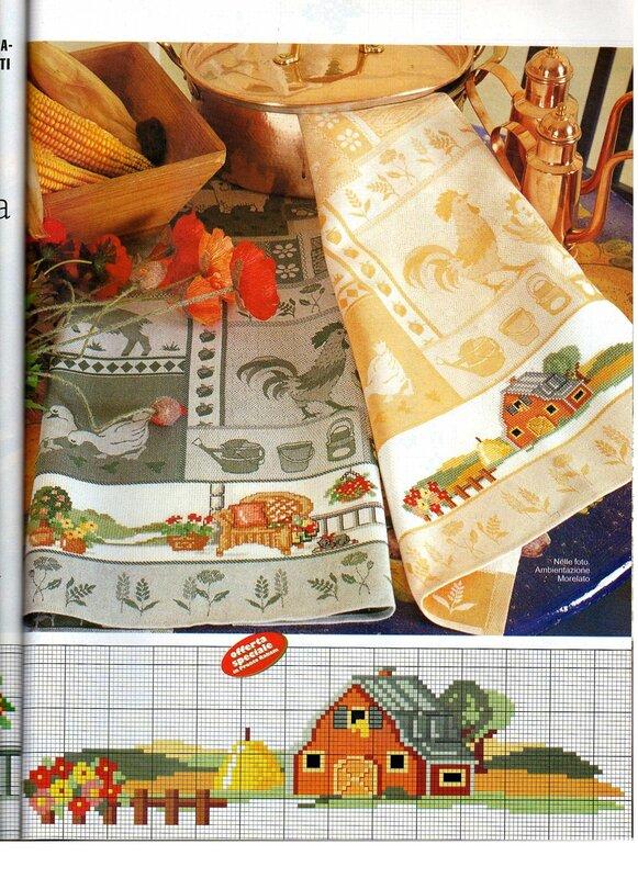 свой цитатник или сообщество!  Схемы вышивок для кухни,полотенец,салфеток,скатертей.  Прочитать целикомВ.