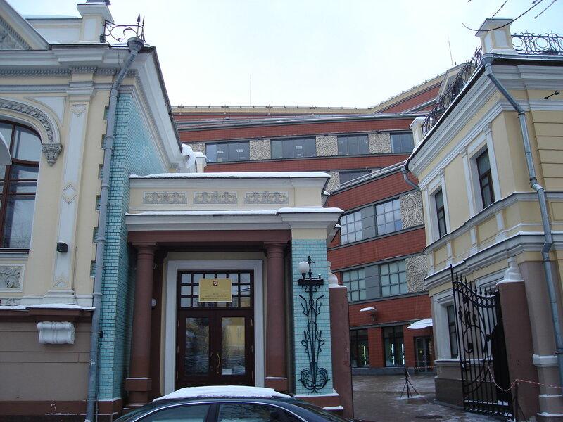 Особняк Л.И. Гельтищевой. Архитектор Ф.Ф. Воскресенский,1904 г.
