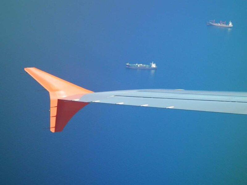 A330 над мраморным морем
