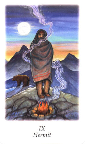 III Бабушка - Старший Аркан Vision Quest Tarot - TarotAngel
