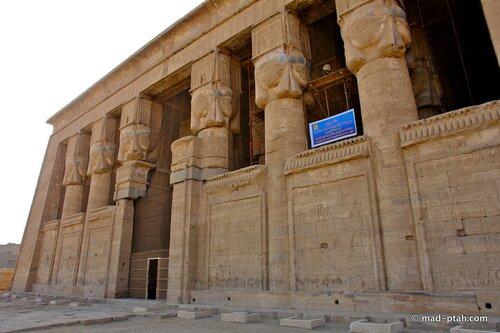храм богини хатхор, египет, дендеры