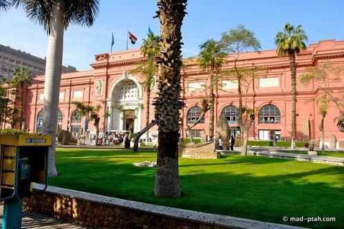 каир, египет, каирский музей