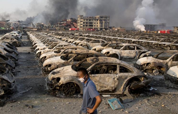 Вгороде Тяньцзин насевере Китая произошел новый взрыв