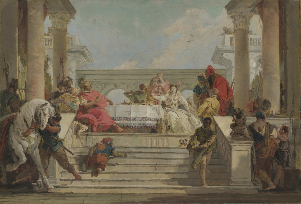 The Banquet of Cleopatra