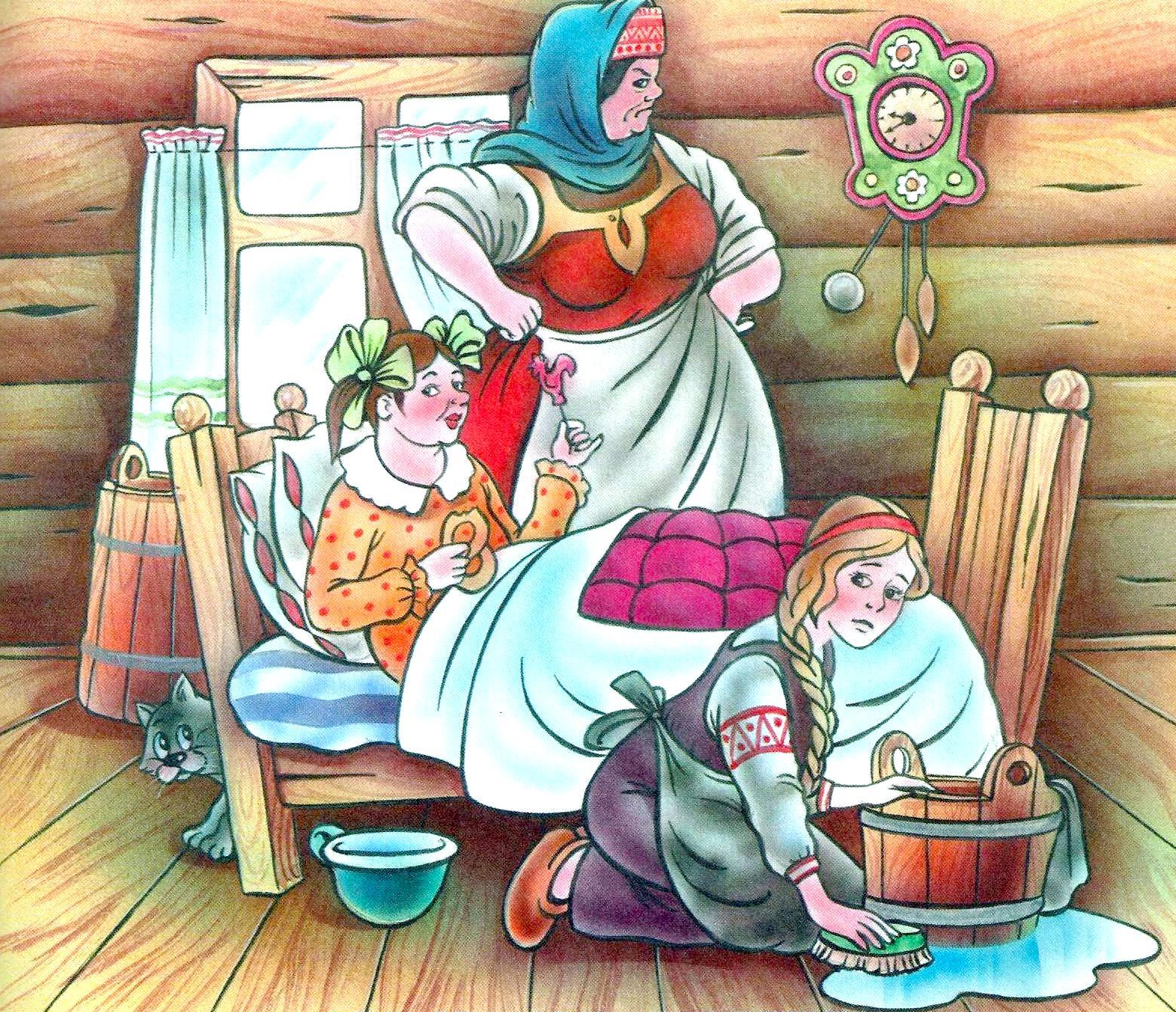 Русская красивая мачеха и пасынок