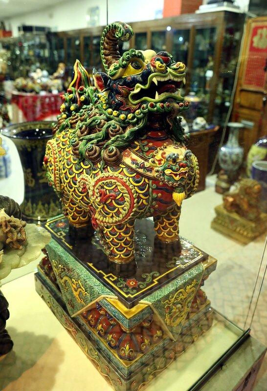 Lisbon. Ceramics shop
