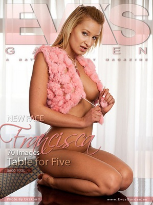 Журнал Журнал Eva\'s Garden (2010): Francisca-Table for Five