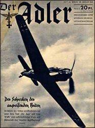 Книга Der ADLER 2a № 23 1940