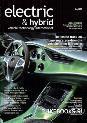 Журнал Electric & Hybrid vehicle technology international magazine July 2009