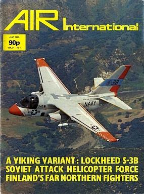 Журнал Air International - Vol 31 No 1