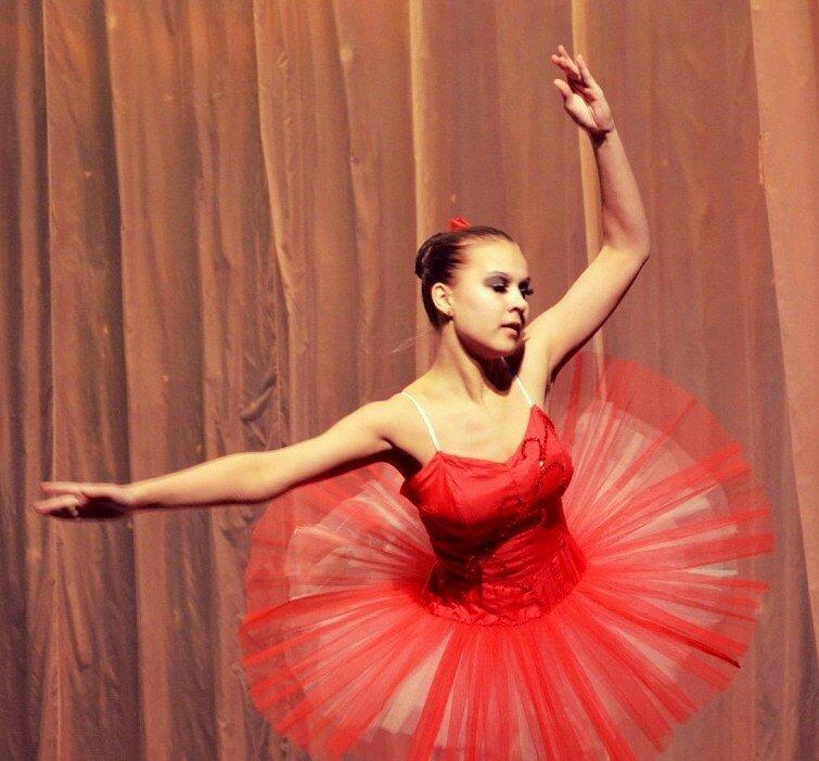 Портрет балерины