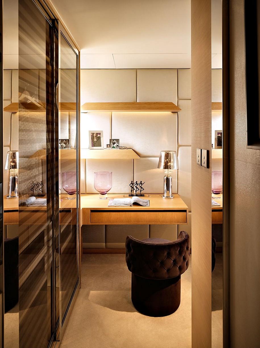 Дизайн интерьера квартиры в Гонконге от Another Design International