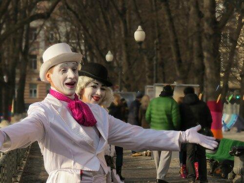 Масленица в Москве на Патриарших
