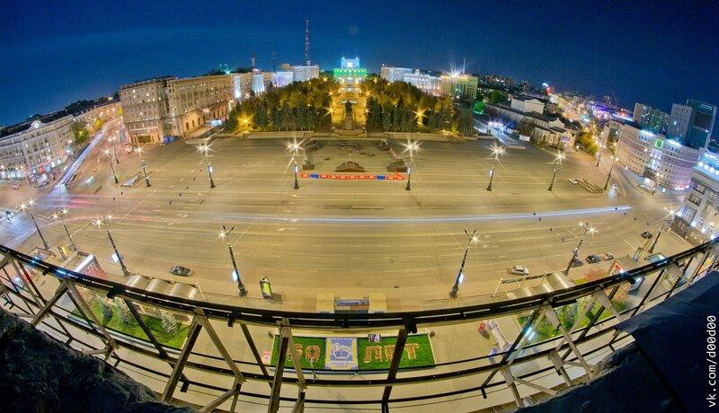 Челябинск с высоты. автор Павлов Никита