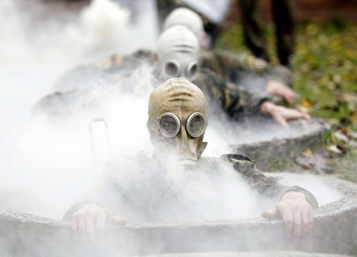 На учебном поле брани: Картинки из жизни бойцов различных спецназов (23)