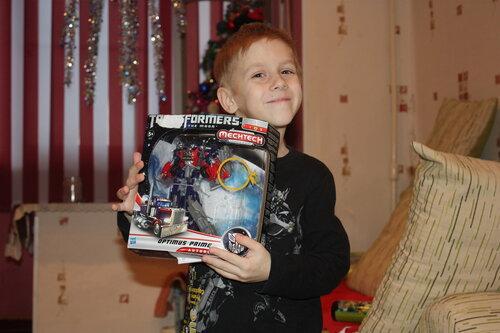 Слава П. Трансформер Optimus Prime