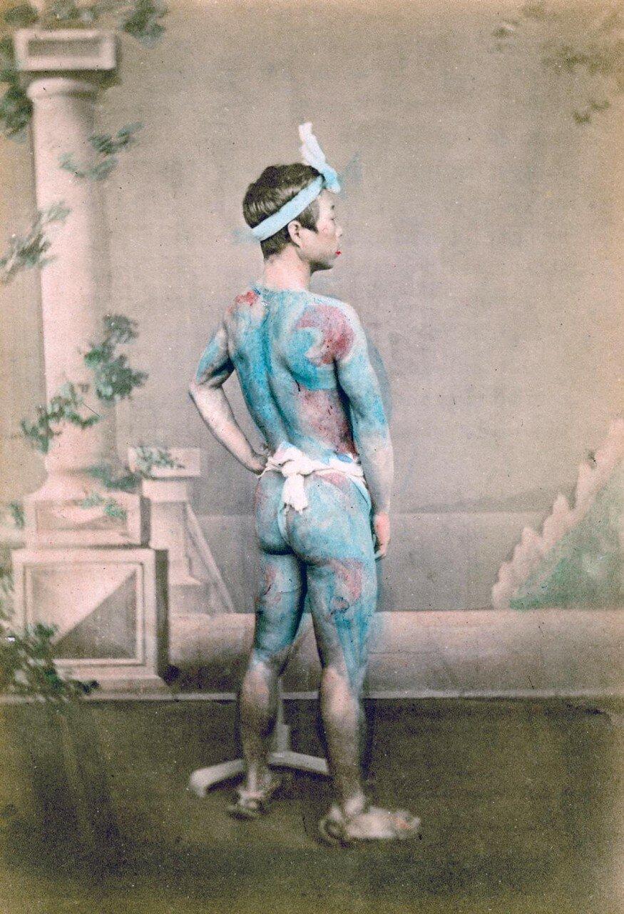 Татуированный мужчина. 1882