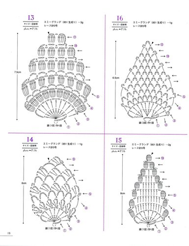 LACEWORK pineapple pattern 100