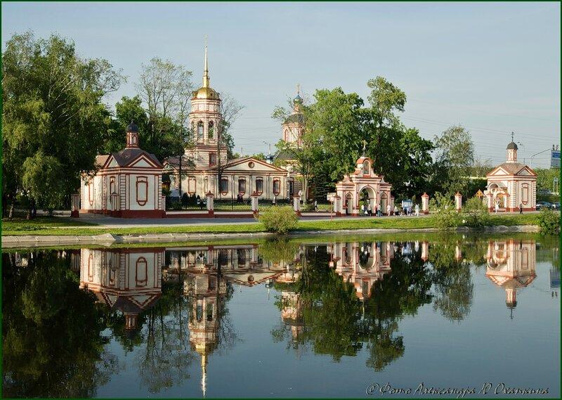 Храм и отражение.