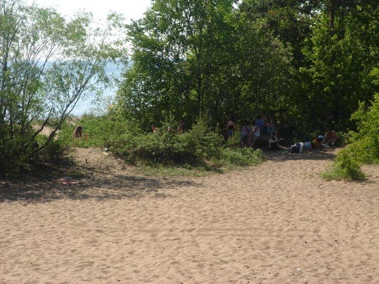 Корпоратив на пляже 2011