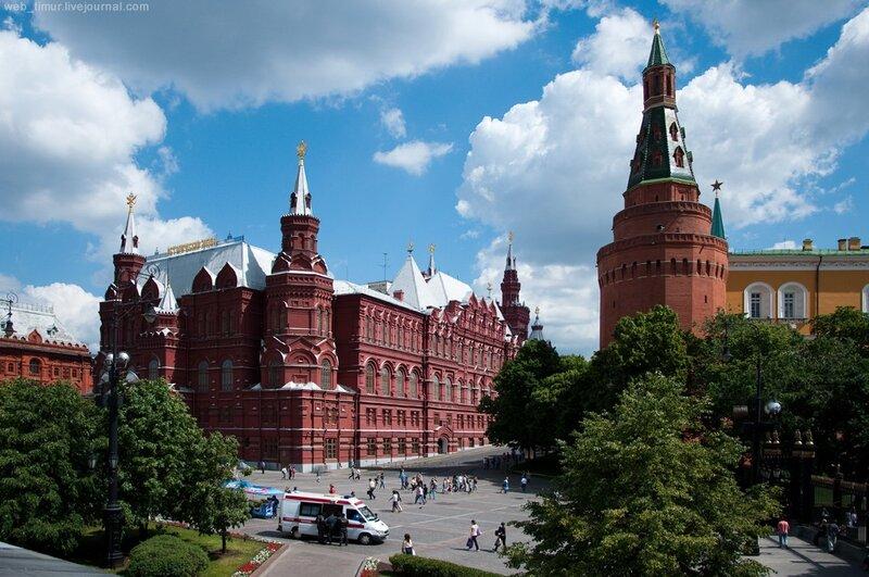 Москва летом