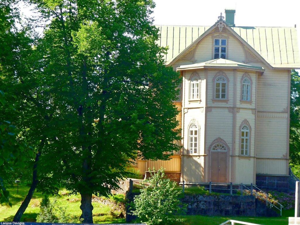 Дом патрона (владельца фабрики).