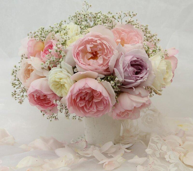 Пионовидные розы для открытки 550