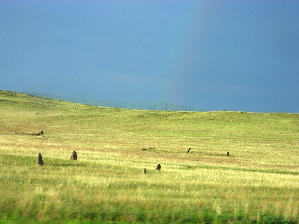 Республика Хакасия - туда и обратно. Фото природы, озёра и радуга - Реки, Озёра, Горы - khakassia, siberia, russia
