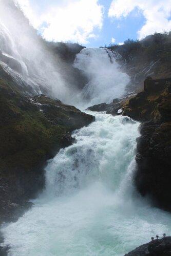 Водопад Норвегии...