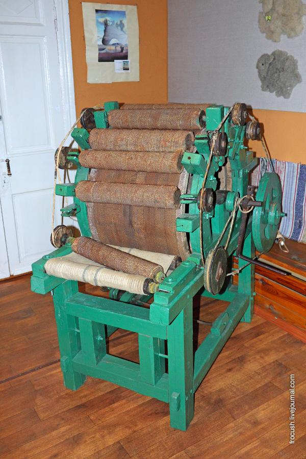 шерстечесальная машина
