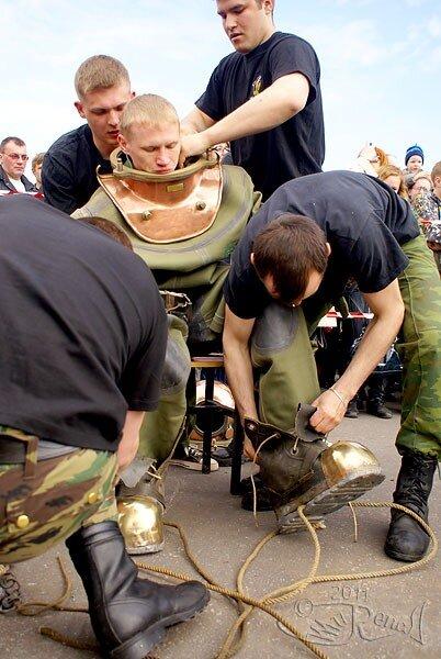 День водолаза в Мурманске
